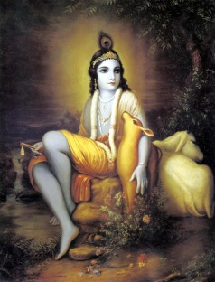 Portrait of Krishna
