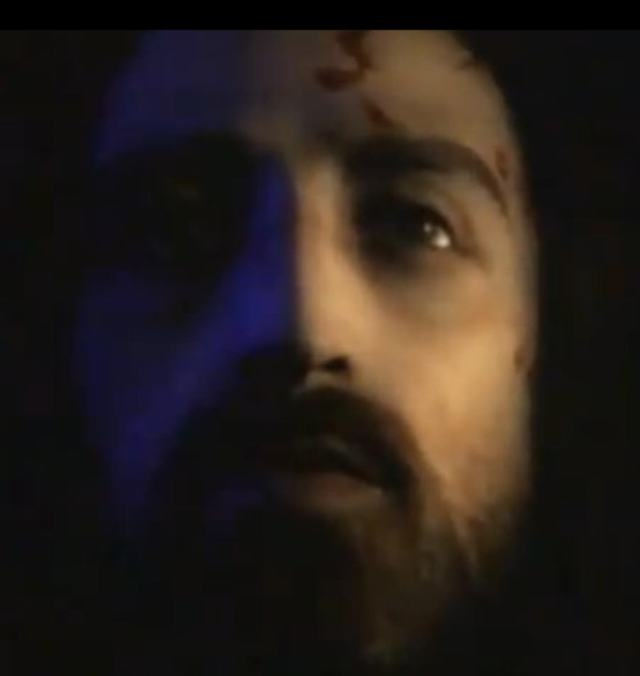 Image of Yeshua/Jesus based on a holographic rendering of the Shroud of Turin.