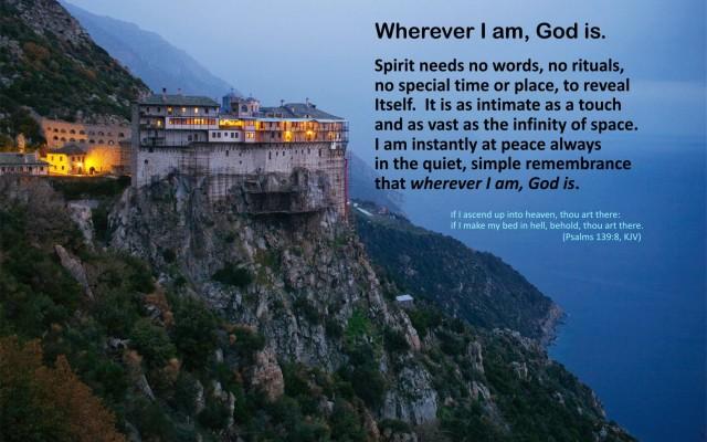 Simonos Petras Monastery _1680x1050 pixels