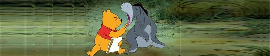Doctor Pooh and His Patient Eeyore (from Disney's Winnie the Pooh)
