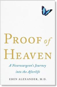 "Facsimile of Dr. Eben Alexander's book, ""Proof of Heaven"""