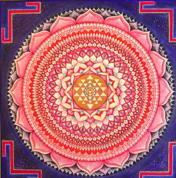 Thousand Petal Lotus Chakra