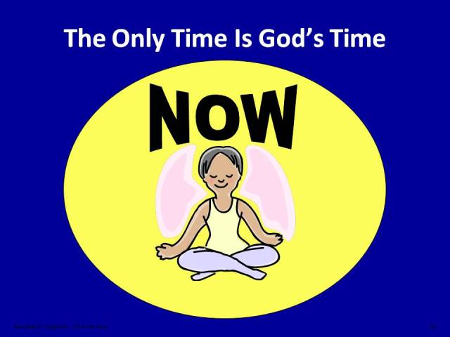 """Diagram for """"God's Time Is NOW"""""""