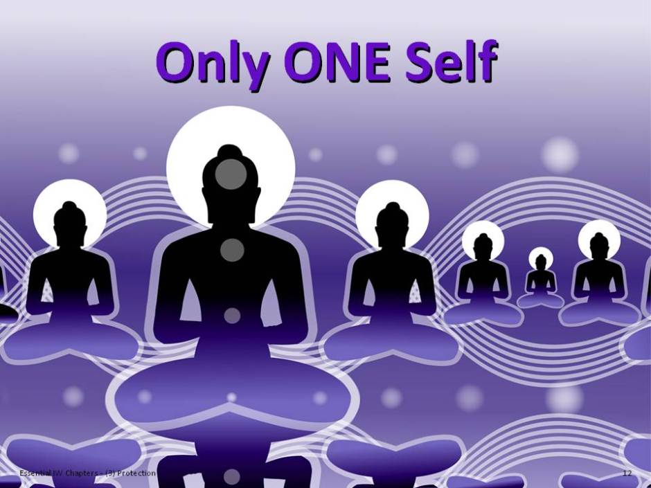 "Illustration of ""Only ONE Self"""