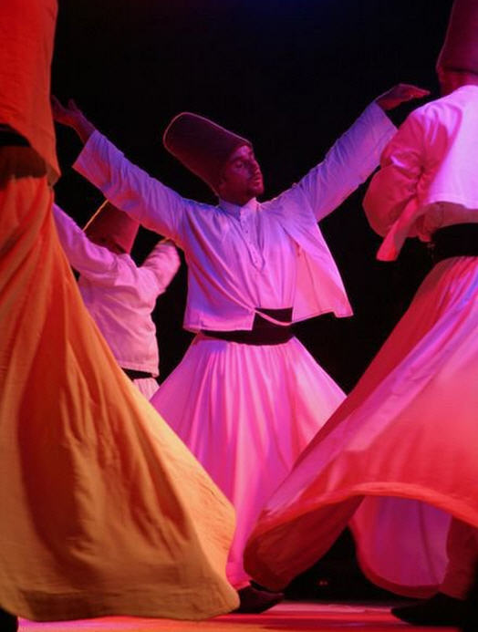 Photograph of Sufi Whirling Dervishes