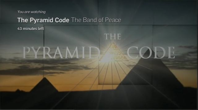 Screen shot of The Pyramid Code.
