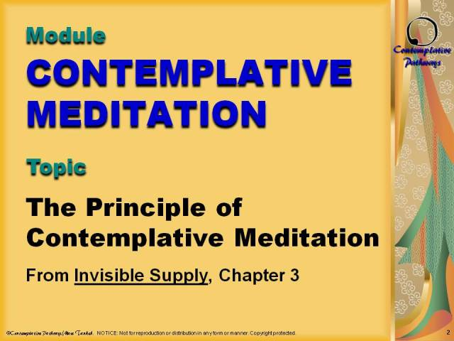 Graphics for Contemplative Meditation (IW)
