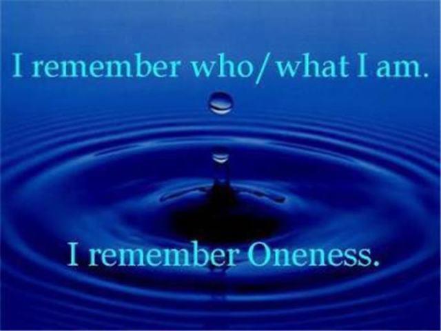 Remebering Oneness