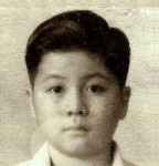 Marc's photograph as a young child.