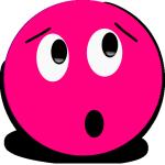 Surprised Pink Smiley (lookingrightt)