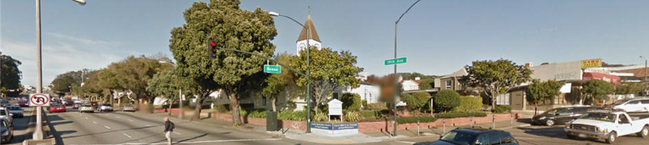 Location street view photograph of USC-SF.