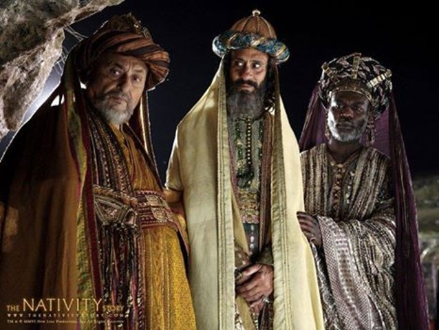 Photo depicting the Three Magi