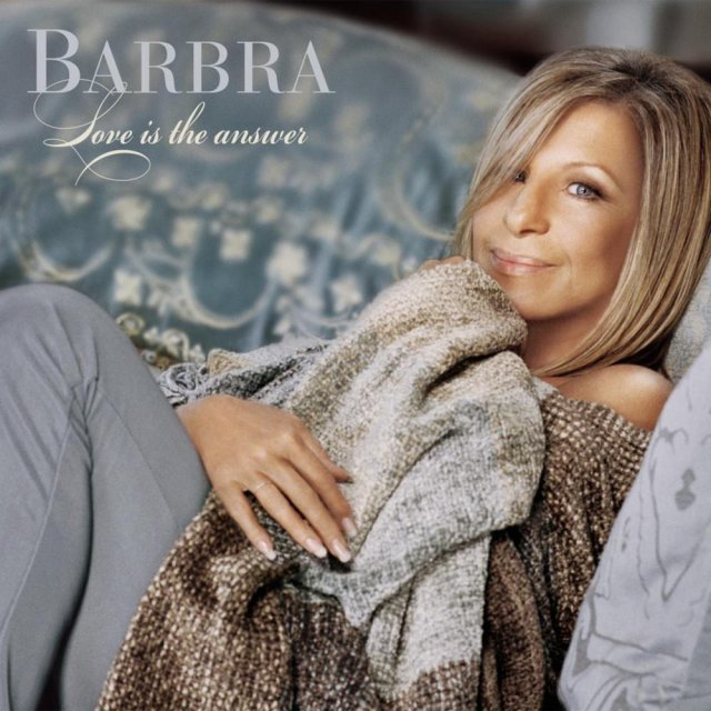 Facsimile of Barbra Streisand music album cover.
