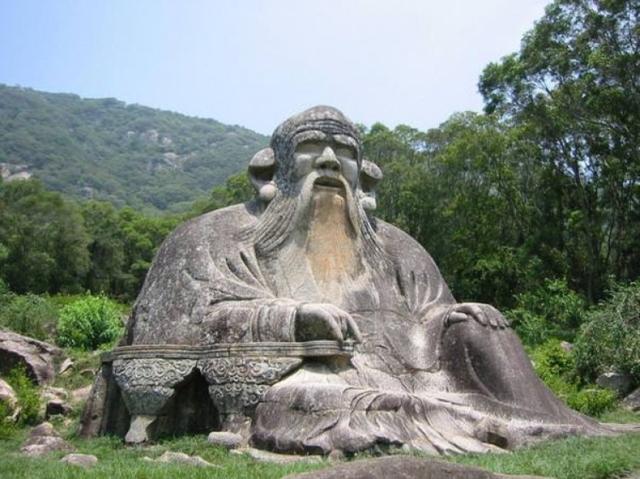 Photograph of Lao Tzu Statue in Quanzhou, China