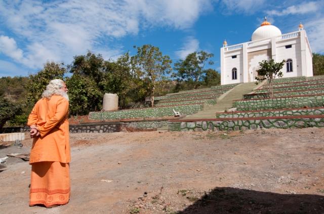 Photograph of Yogiraj's Siddhanath Forest Ashram Temple
