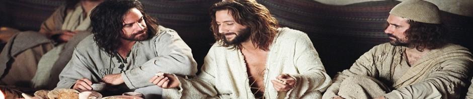 """Banner for """"The Gospel of John"""" (the movie)"""