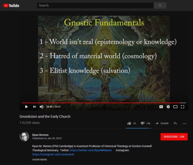 Gnostic Fundamentals by Ryan Reeves