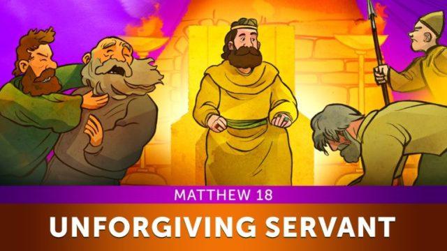 Illustration for Matthew 28: Parable of the Unforgiving Servant