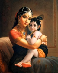 Yashoda and Krishna (Hinduism Madonna and Child)