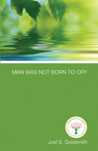"Book facsimile of ""Man Was Not Born To Cry"""
