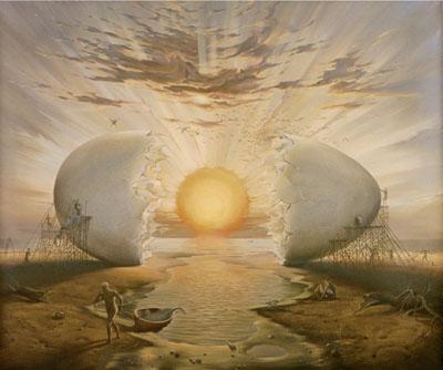 Cracking Cosmic Egg